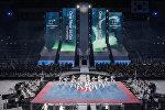 Концерт в Пхенчхане по случаю старта обратного отсчета до Игр-2018