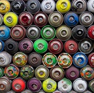 Краска для граффити в баллончиках