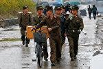 Северокорейские военные, архивное фото