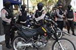 Индонезийские полицейские, архивное фото