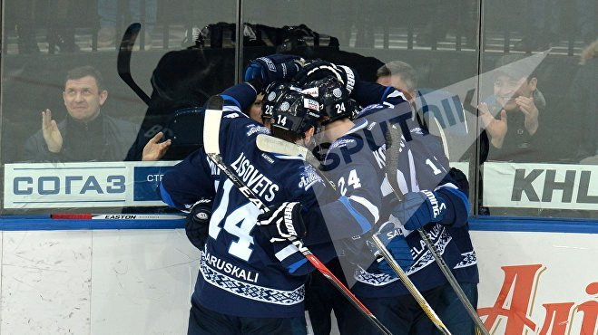 КХЛ Динамо-Минск - Локомотив