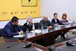 Пресс-конференция организаторов фестиваля детей-усыновителей Родные люди