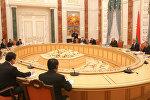 Встреча с председателем Постоянного комитета Всекитайского собрания народных представителей Чжан Дэцзяном 18 апреля 2017 года
