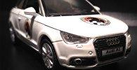 Аўтамабіль Audi, які будзе разыграны на матчы Крумкачы - БАТЭ
