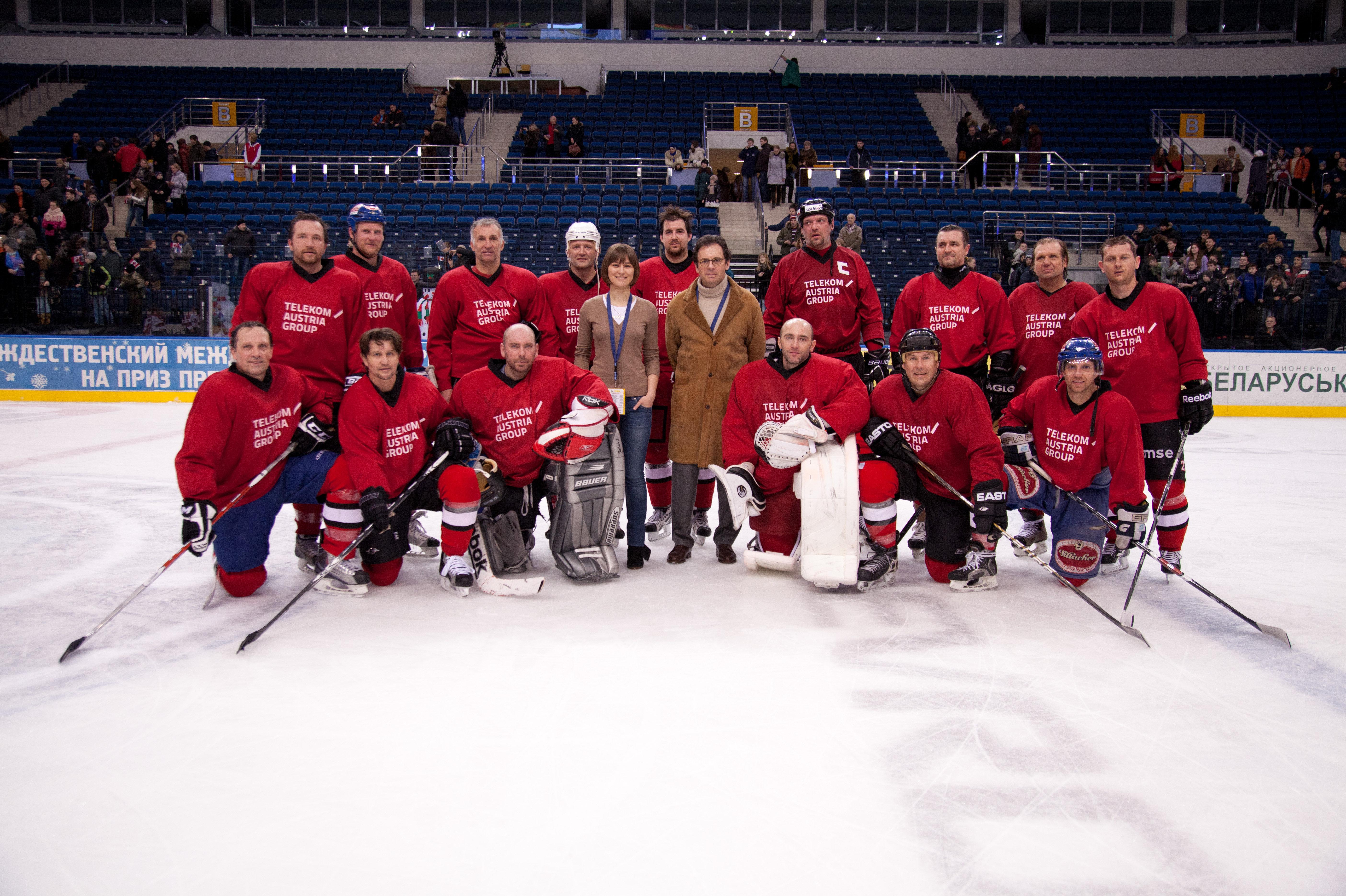 За время проведения Чемпионата мира по хоккею в Минске Александра стала страстной болельщицей