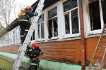 Школа горела в Гродно