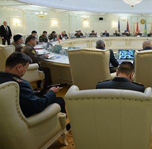 Юбілейнае пасяджэнне ваеннага камітэта АДКБ у Мінску
