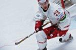 Игрок сборной Беларуси Андрей Стась