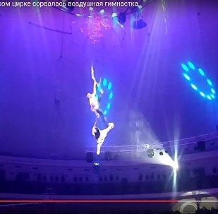 Падение цирковой артистки