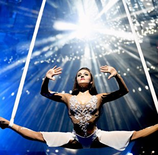 Гимнастка Мария Сюльгина