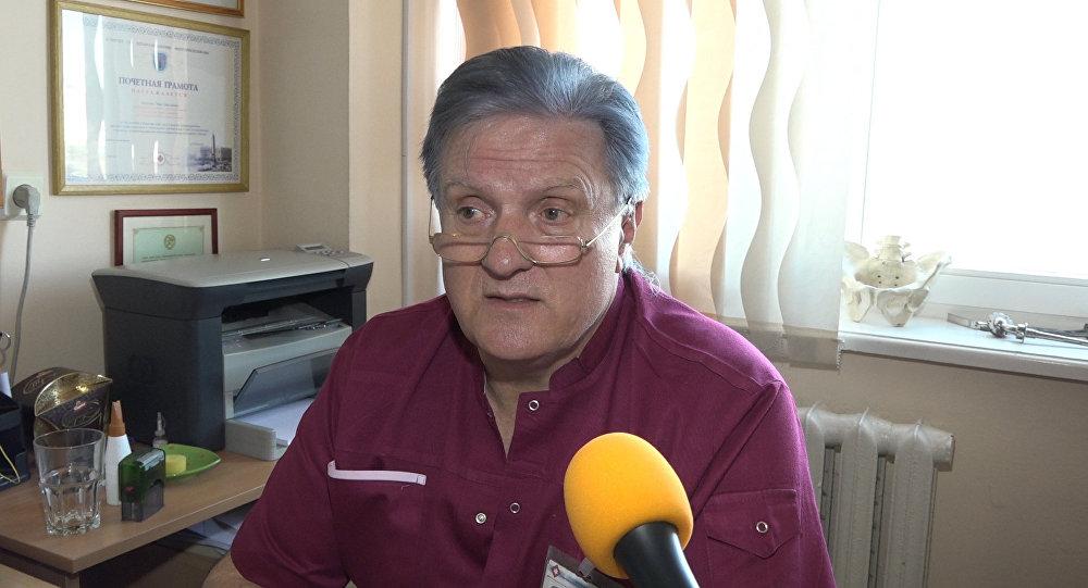 Заведующий отделение сочетанной травмы БСМП Иван Ладутько