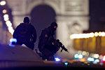 Обстановка в Париже после нападения на полицейских