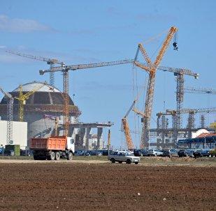 Строительство БелАЭС в Островце