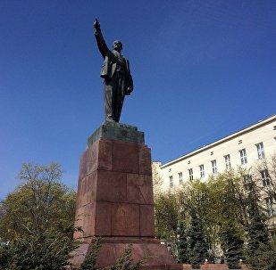 Помнік Леніну ў Брэсце