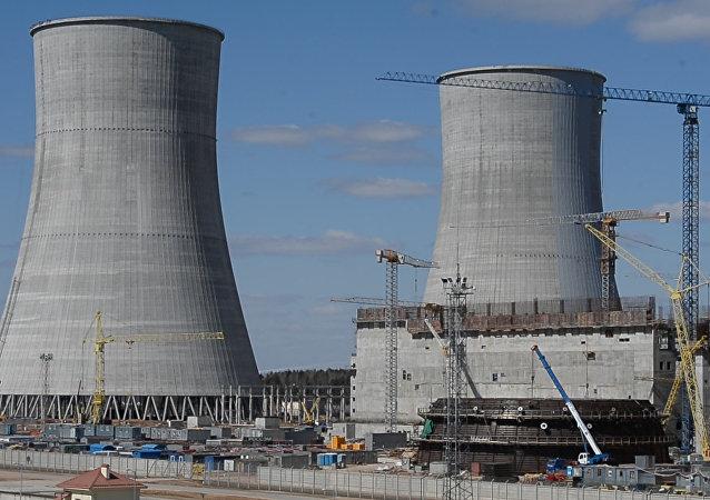 Видеофакт: как строится Белорусская АЭС в Островце