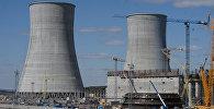 Як будуецца Беларуская АЭС у Астраўцы
