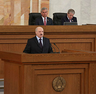 Президент Беларуси Александр Лукашенко 21 апреля обратился с ежегодным Посланием к белорусскому народу и Национальному собранию.