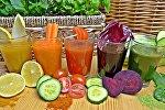 Многие фрукты и овощи содержат высокоактивные ферменты