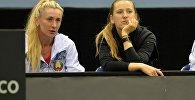 Белорусские теннисистки Ольга Говорцова (слева) и Виктория Азаренко
