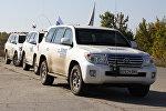 Машины ОБСЕ в Донбассе, архивное фото