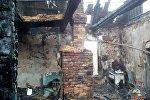 Последствия пожара в Кричеве