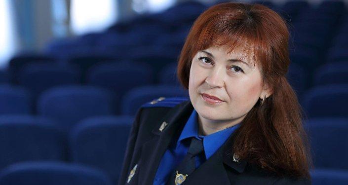Официальный представитель УСК по Могилевской области Оксана Соленюк