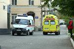 Машины скорой помощи в Дагестане, архивное фото