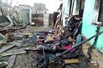 Сгоревший дом в Кричеве