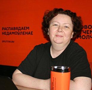 Руководитель правозащитной организации Регион 119 Алена Красовская