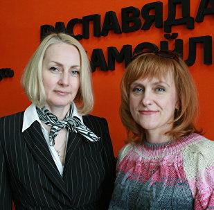 Специалист по семейному устройству детей, оставшихся без попечения родителей, психолог Ольга Головнева и мать троих усыновленных детей Нина Конон