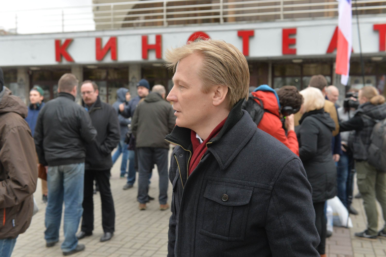 «Чернобыльский шлях» закончился митингом вКиевском сквере Минска