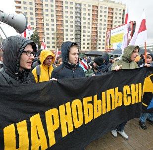 Чернобыльский шлях в Минске