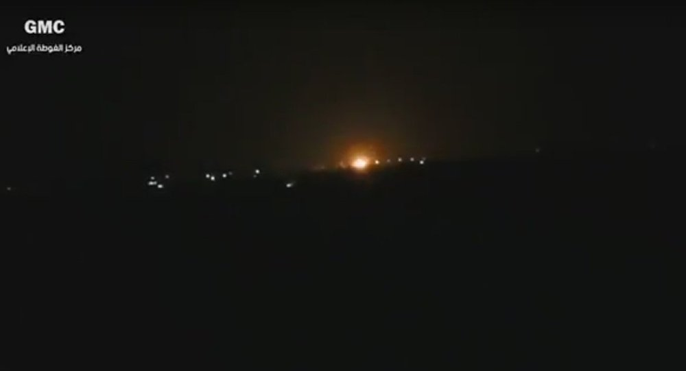 Аэропорт Дамаска потряс мощнейший взрыв