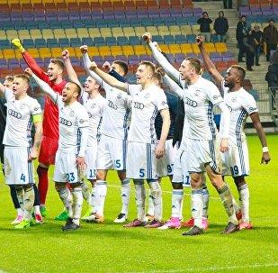 Футболисты брестского Динамо
