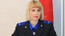 Официальный представитель Следственного комитета Беларуси по Витебской области Светлана Сахарова