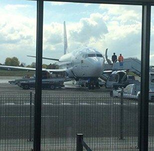 Белавиа доставила первых пассажиров в Брюссель