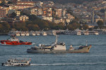 Разведывательный корабль Черноморского флота Лиман, архивное фото