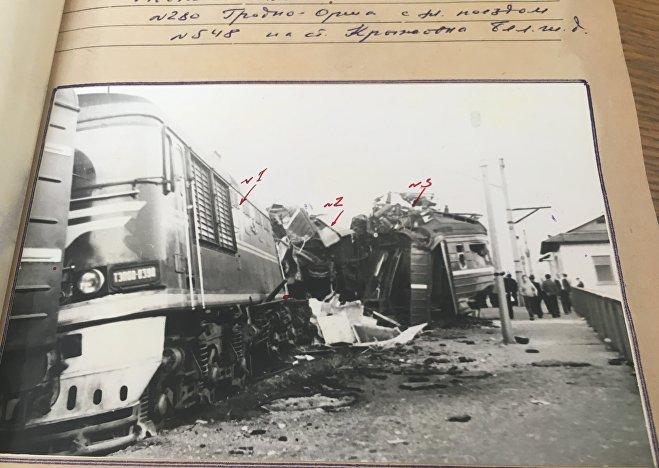 Трагедия в Крыжовке 2 мая 1977 года - столкновение поезда и электрички
