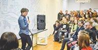 На встречах с читателями у Гормыко всегда аншлаг