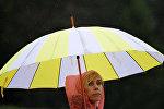 Дождливая погода, архивное фото