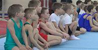 Детские соревнования по спортивной гимнастике прошли в Минске