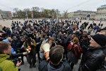 Акция оппозиции завершилась в Минске мирно