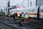 ЧП с поездом в Германии