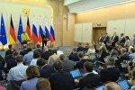 LIVE: Путин и Меркель о минских договоренностях и борьбе с терроризмом