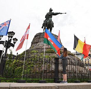 Адкрыццё фан-зоны да Еўрабачання-2017 у Кіеве