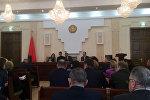 В парламенте обсуждают вопросы применения смертной казни