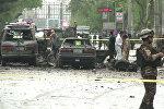Взрыв прогремел в районе посольства США в Кабуле