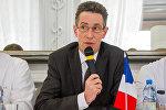 Посол Франции в Беларуси Дидье Канесс, архивное фото