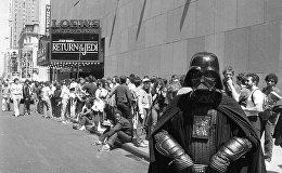 Перед премьерой фильма Звездные войны. Эпизод VI: Возвращение джедая в Нью-Йорке 25 мая 1983 года