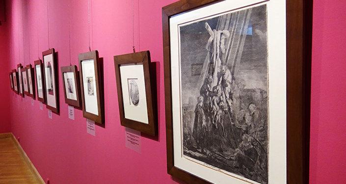Выстава Вялікі Рэмбрандт у Нацыянальным мастацкім музеі Беларусі